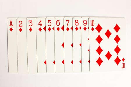 straight flush: poker card