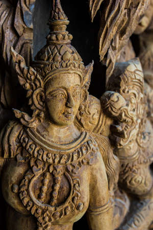 wood carvings: Wood carvings in Thailand