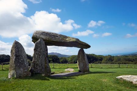 Ifan Burial Chamber Pentre Preseli hills Pembrokeshire Wales