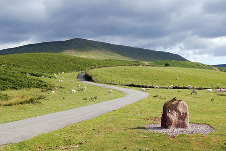 Hay bluff, brecon beacons, powys, wales