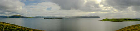 peaty: Scotland islands panorama