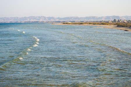 the windy beaches of the Red Sea 版權商用圖片