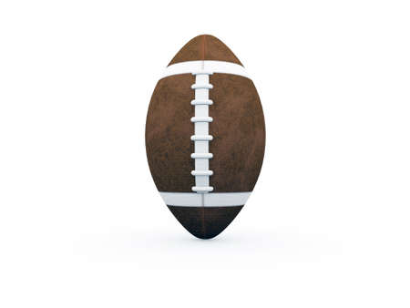 nfl: football ball Stock Photo
