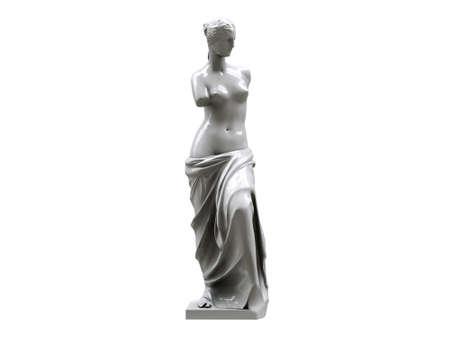 venus statue isolated on white background Stock Photo - 10412896