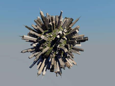 future city: city sphere