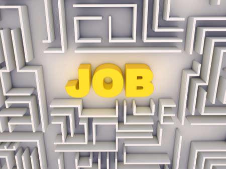 job labyrinth photo