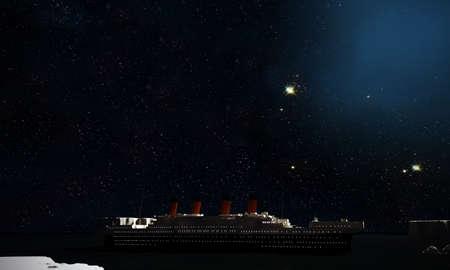 titanic: titanesque Banque d'images