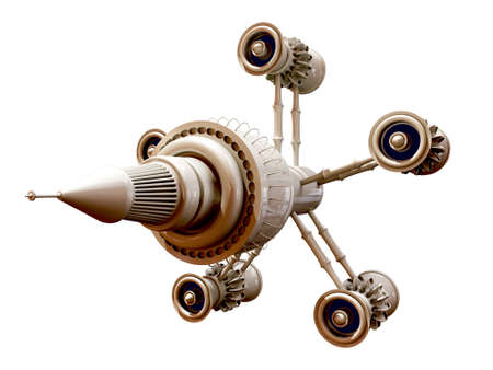spaceship model photo