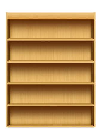 mensole: shelf isolato su sfondo bianco