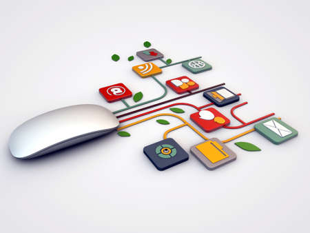 마우스 연결