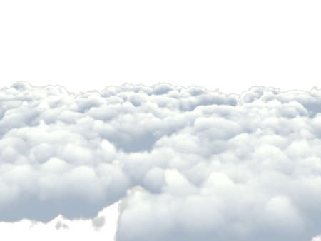 clouds isolated on white background Stock Photo - 13181283