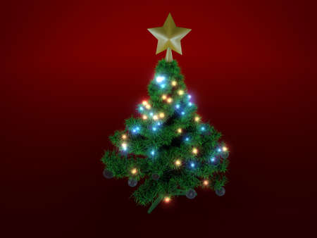 christmas tree Stock Photo - 13267811