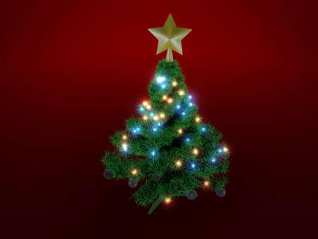 christmas tree Stock Photo - 13267811