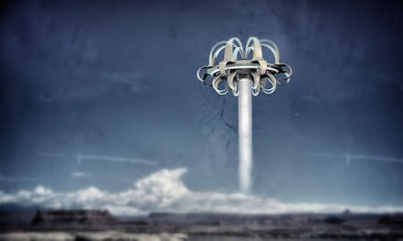 ufo take off from area 51 photo