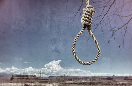 capital punishment: hangman Stock Photo