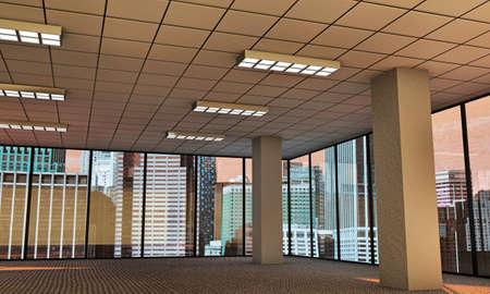 empty modern office  Stock Photo - 17025011