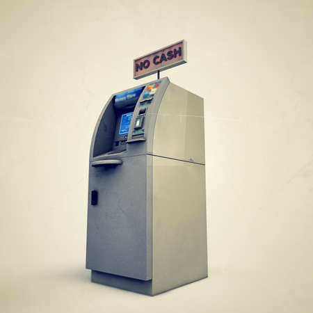 atm isolated on white background Stock Photo - 17187347