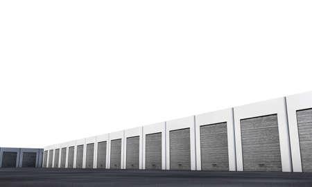 garage doors: unit storage