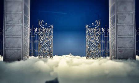 heaven gate in the sky