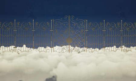 heaven gate closed photo