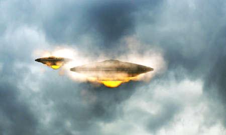 unidentified: objeto volador no identificado en el cielo