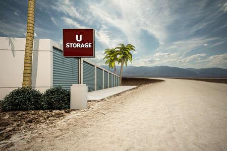self storage: self storage in the desert