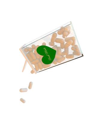 waft: mints box isolated on white background