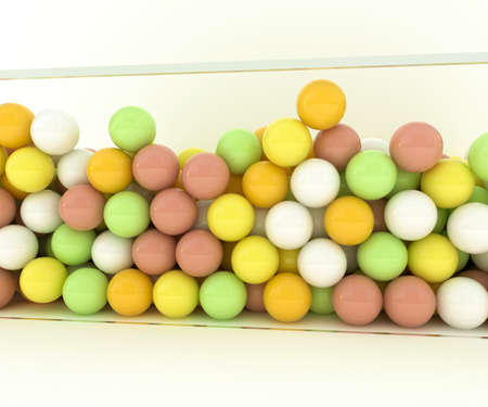 gumballs: gumballs isolated on white background