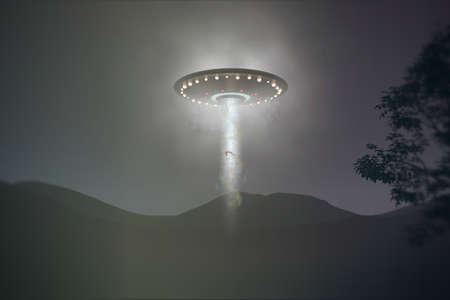 ufo abduction caught on camera  photo