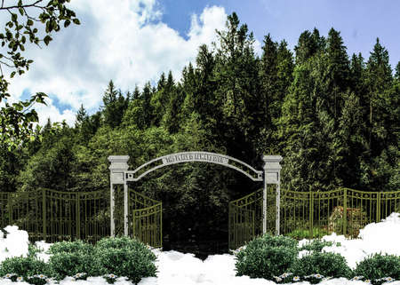 luxuriant: heaven gate open on a luxuriant environment