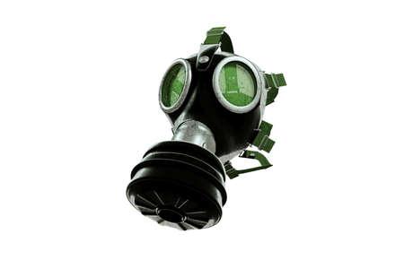 gasmask: gas mask isolated on white background
