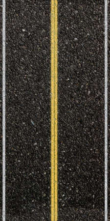 bitumen: 3d render of a road pattern from top view