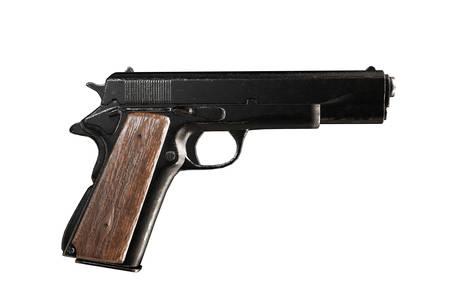gun isolated on white background 3d illustration