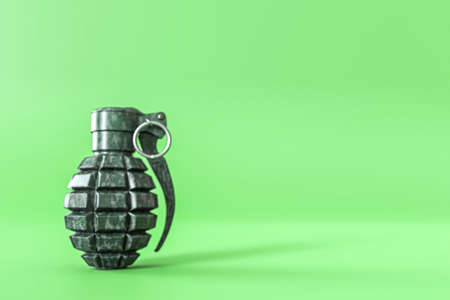 Grenades isolated on white background 3d illustration Stock fotó