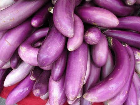 elongated: Purple Elongated Vegetables
