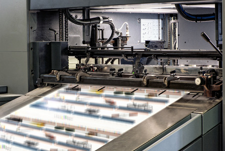 Architectural Large Printing Machines Intended for Large Prints Inside the Office