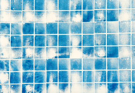 blu: Squared light blu marble paper texture for backgrounds Stock Photo