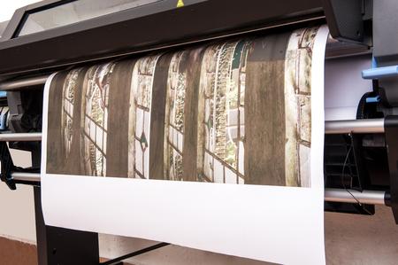 de gran formato de gran tamaño de trabajo de la impresora profesional de impresión de la foto en papel en rollo