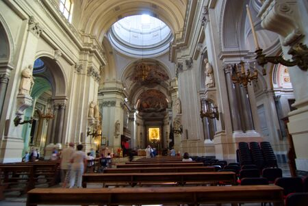 interior of the cathedral of Palermo