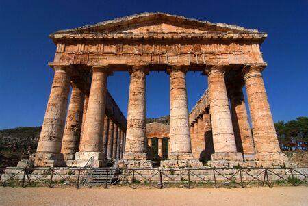 Tempio archaeological site of segesta
