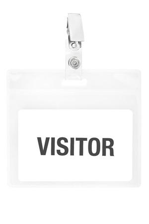 by passes: Visitantes tarjeta de identificaci�n o pase de identificaci�n con trazado de recorte