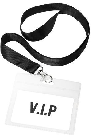 by passes: Credencial o pase Vip identificaci�n con trazado de recorte