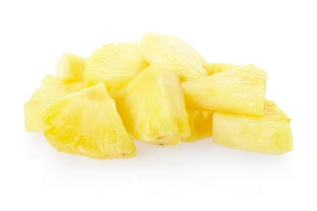 Pineapple chunks  photo