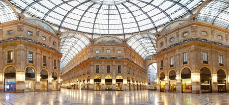 old center: Milan, Vittorio Emanuele II gallery, Italy