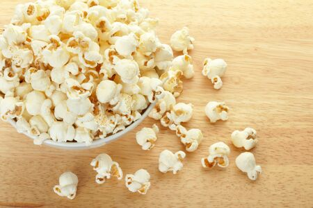 bowls of popcorn: Popcorn bowl