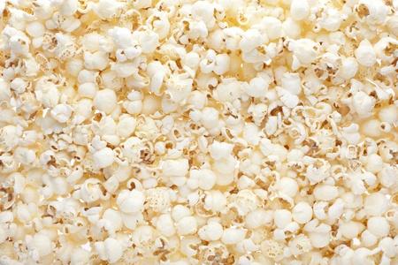 palomitas de maiz: Palomitas de ma�z de textura de fondo Foto de archivo