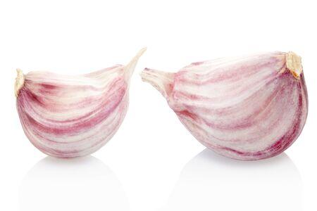 garlic clove: Garlic cloves  Stock Photo