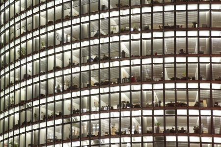 Skyscraper with offices and glass background Stock Photo - 15125518
