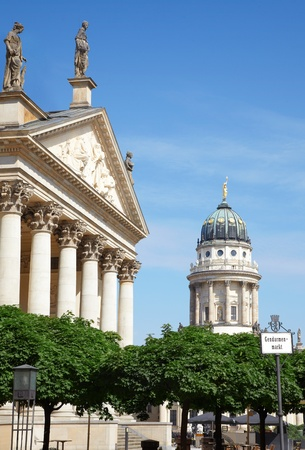 Gendarmenmarkt, German and French cathedral, Berlin photo