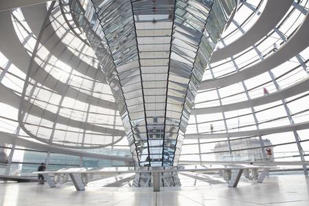 Cupola del Reichstag, Berlino architettura moderna